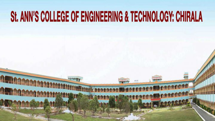 St. Anns College of Engineering & Technology