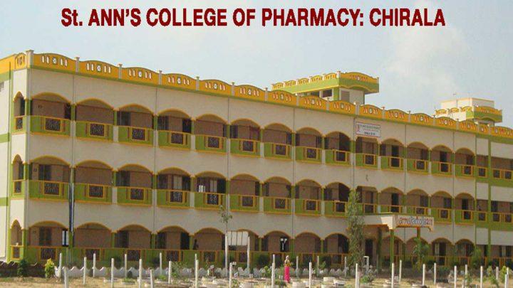 St. Anns College of Pharmacy, Prakasam