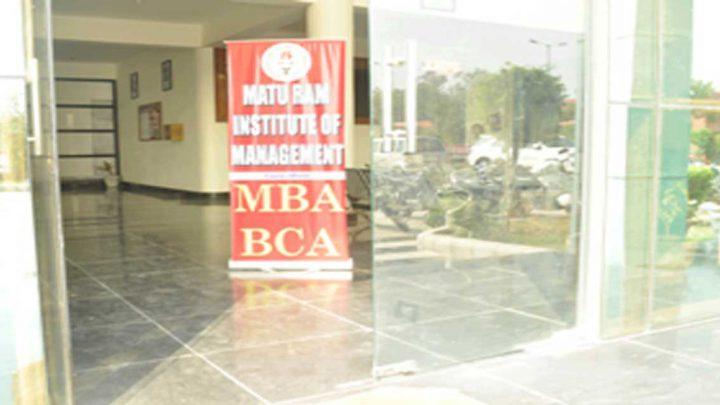 Matu Ram Institute of Management