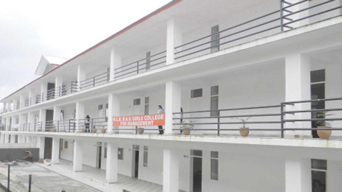 KLBDAV Girls College for Management