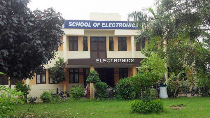 School of Electronics, Devi Ahilya University, Indore