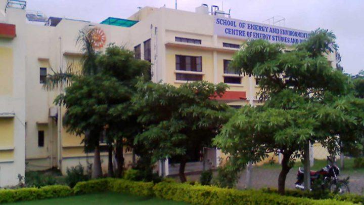 School of Energy & Environmental Studies, Devi Ahilya Vishwavidayala