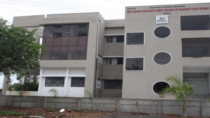 PDEAS Seth Govind Raghunath Sable College of Pharmacy Polytechnic, Saswad