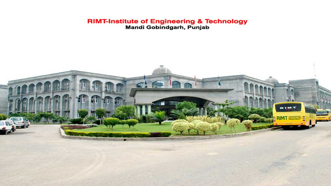 RIMT Institute of Engineering and Technology