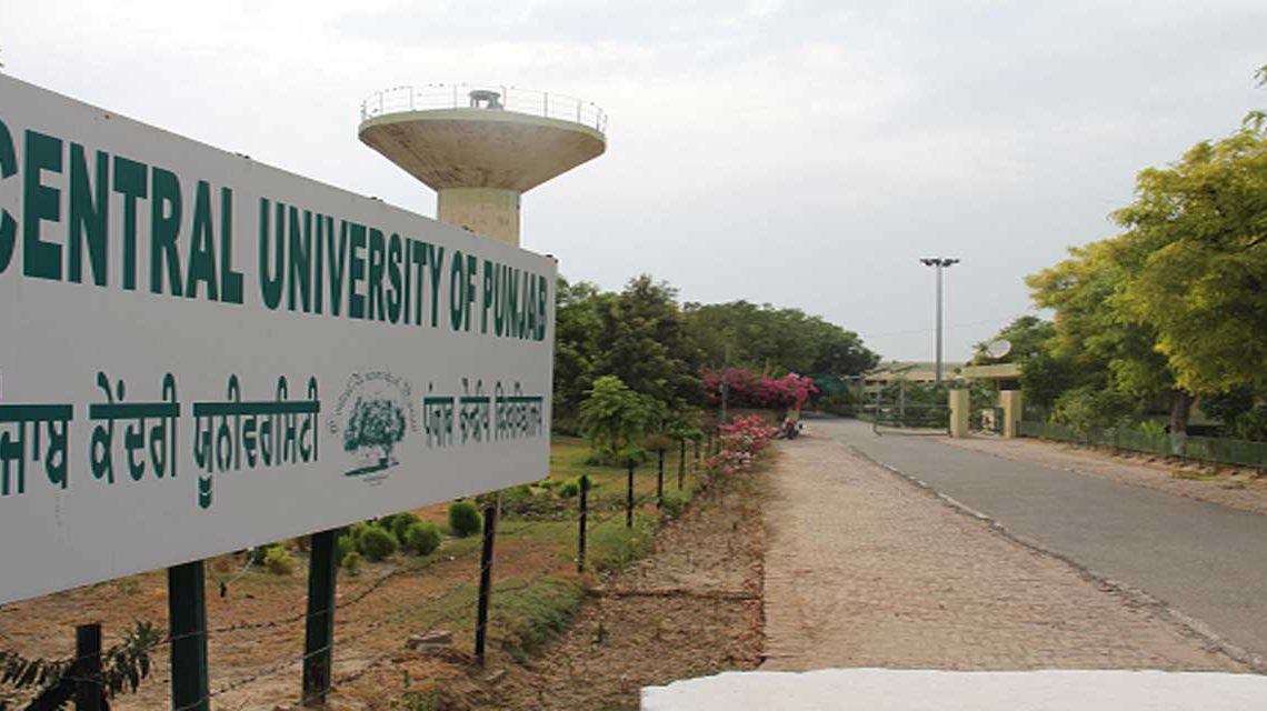 Centre for Chemical and Pharmaceutical Sciences, Central University of Punjab