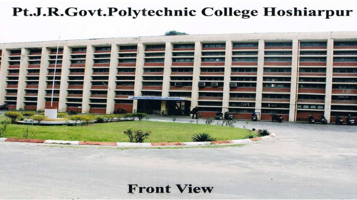 Pt. J.R Government Polytechnic College, Hoshiarpur
