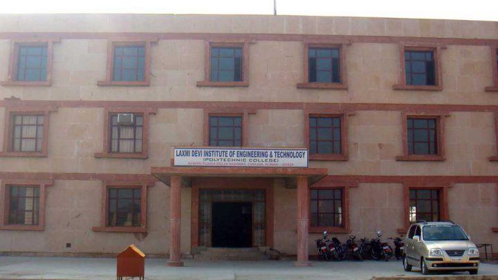 Laxmi Devi Institute of Engineering & Technology, Chikani