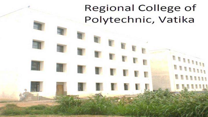Regional College of Polytechnic, Vatika
