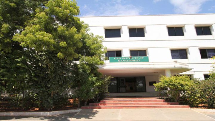 Dr. GR Damodaran Institute of Management