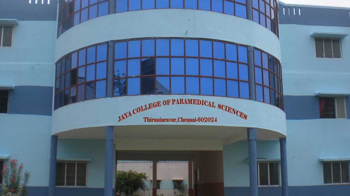 Jaya College of Paramedical Sciences