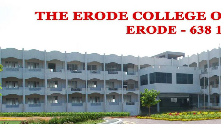 The Erode College of Pharmacy