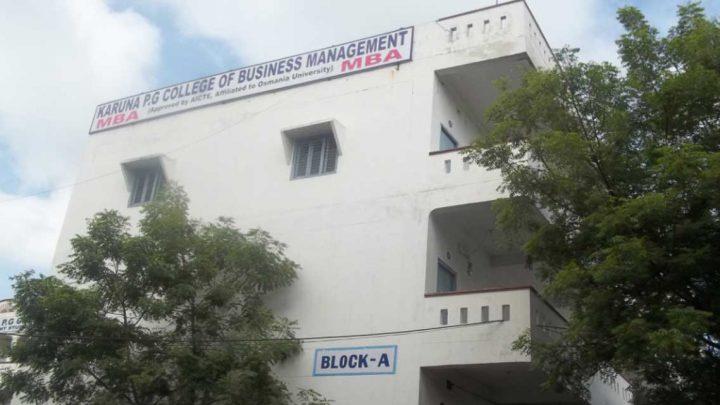 Karuna PG College of Business Management