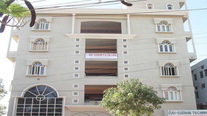 Sai Sudhir PG College