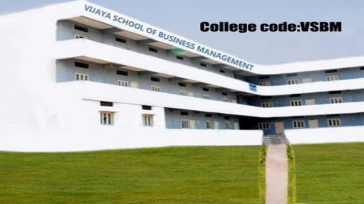 Vijaya School of Business Management