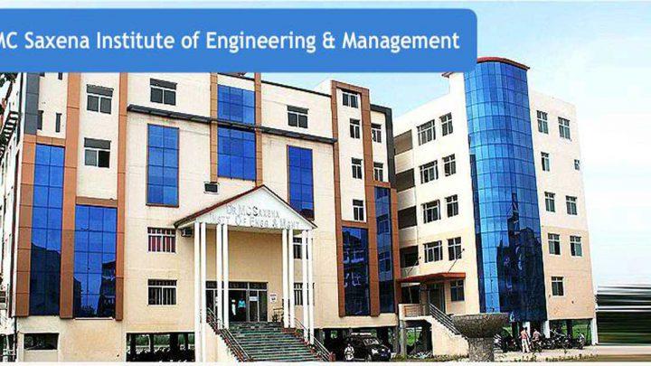 Dr. M.C Saxean Institute of Engineering & Management