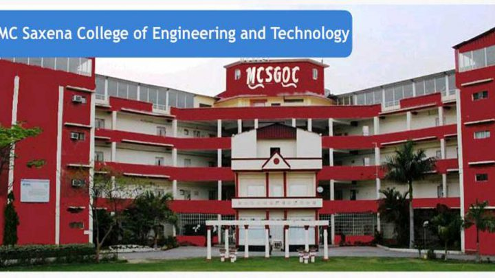 Dr. M.C Saxena College of Engineering & Technology