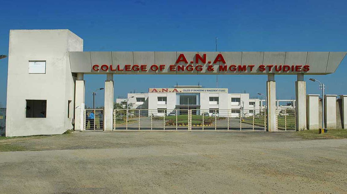 A.N.A College of Engineering and Management Studies