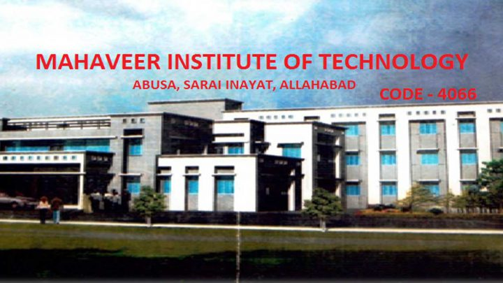Mahaveer Institute of Technology, Pohalli