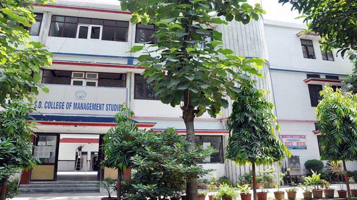 S.D College of Management Studies