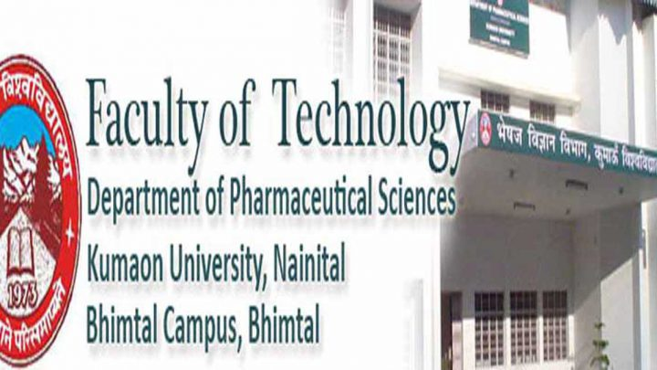 Department of Pharmacy, Kumaun University